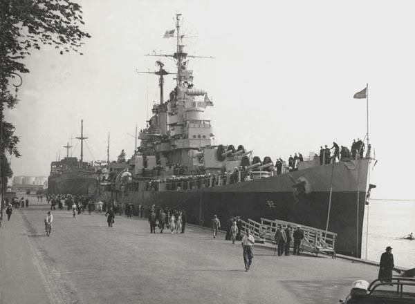 CL92 in Copenhagen 1946
