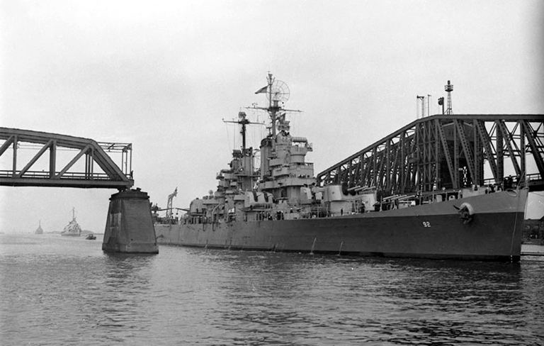 In Kiel Canal July 1946