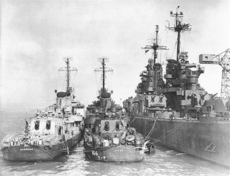 USS Cone, USS Glennon and Cruiser