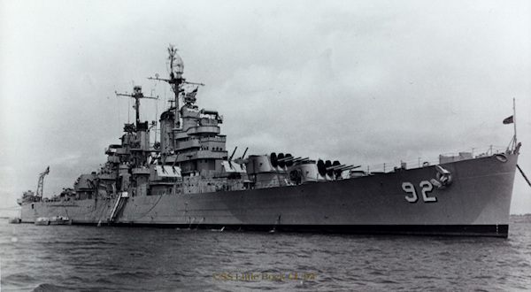 CL 92 at Anchor