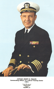 Capt. Phillips NTC Great Lakes 1965