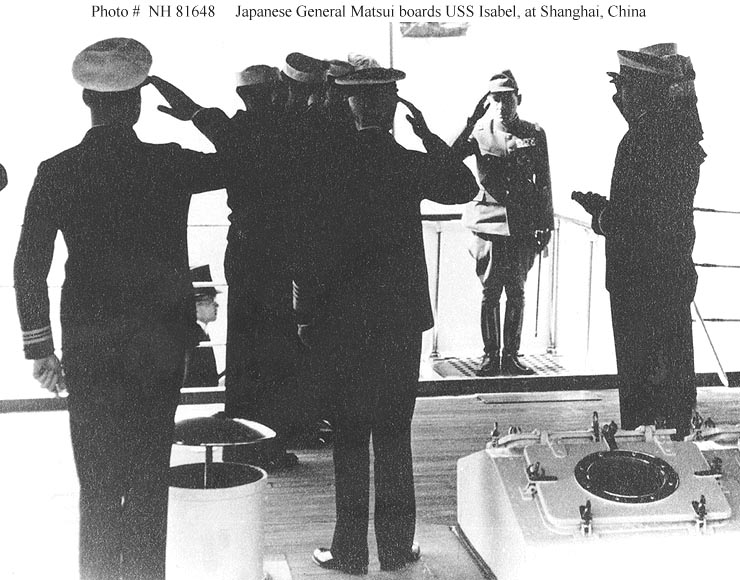 Smith-Hutton on USS Isabel