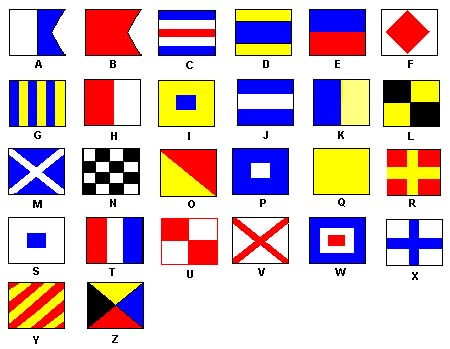 Letter Flags