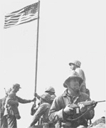First Iwo Flag