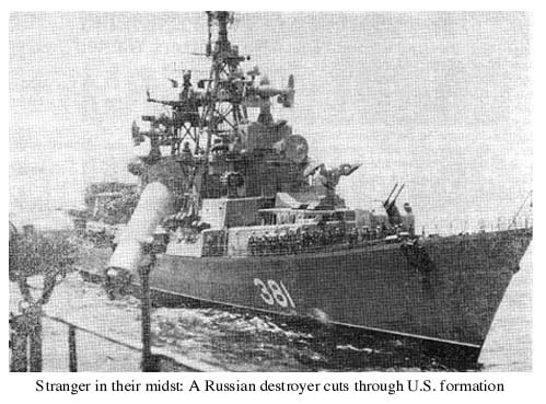 Russian Destroyer 1967