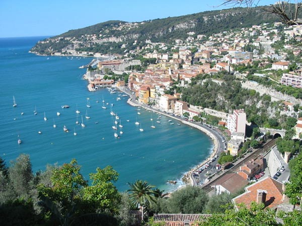 Villefranche Harbor View