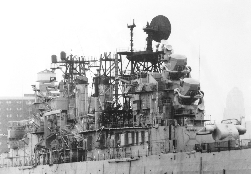 USS Litle Rock at Unknown Location