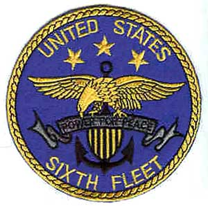 Sixth Fleet Patch