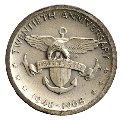 6th Fleet Annivesary Coin (back)