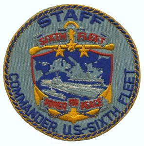 6th Fleet Patch