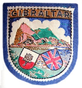 Gibraltar Badge