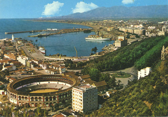 Postcard of Malaga, Spain