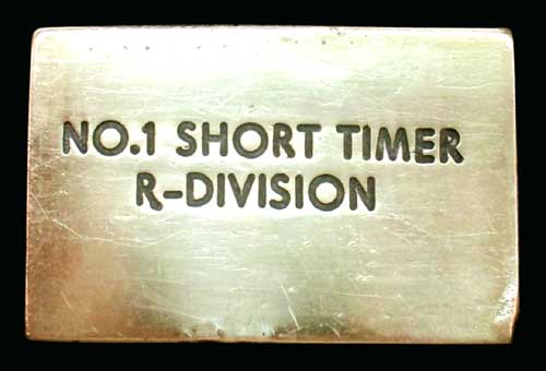 Handmade Short-timer Belt Buckle
