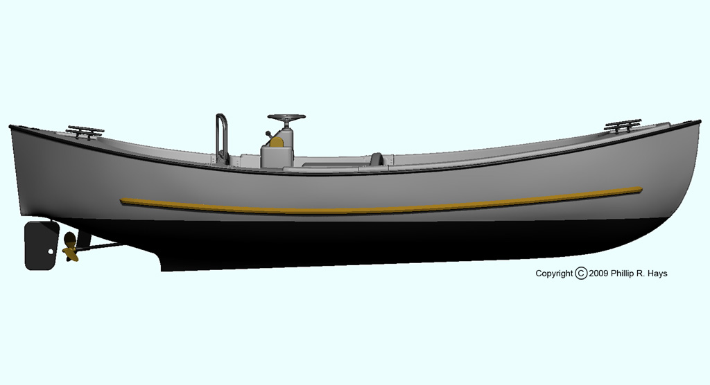 26 Ft. Motor Whale Boat