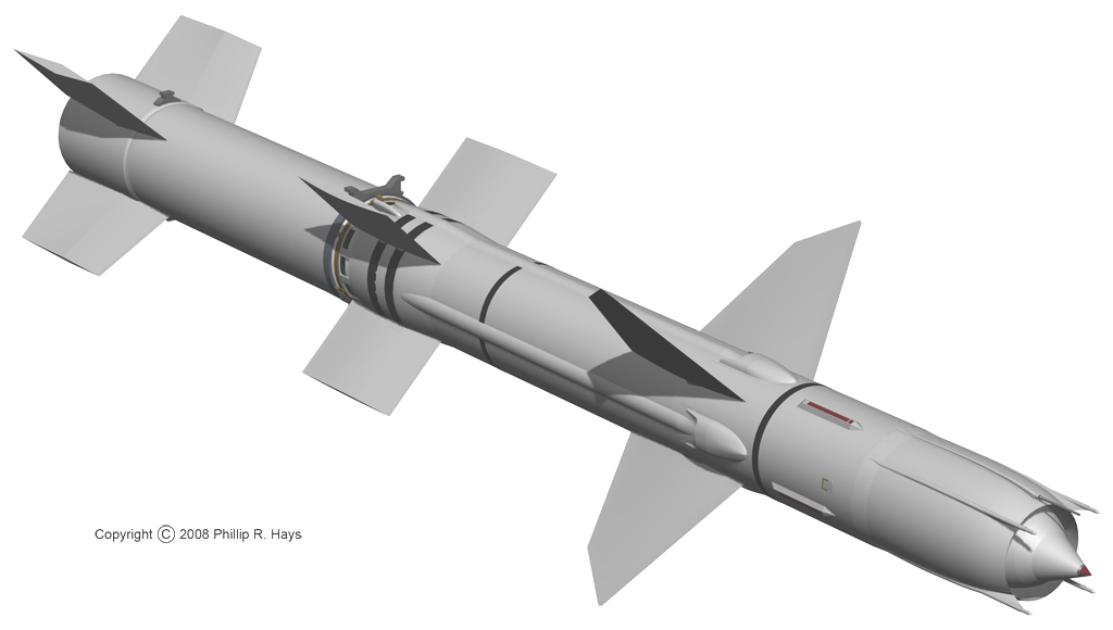Talos Missile with Booster