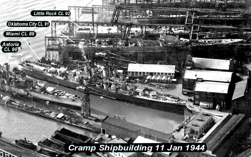 CL92 at Cramp Shipbuilding