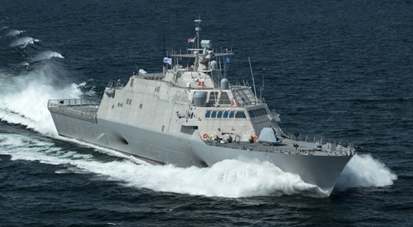 LCS1 Underway